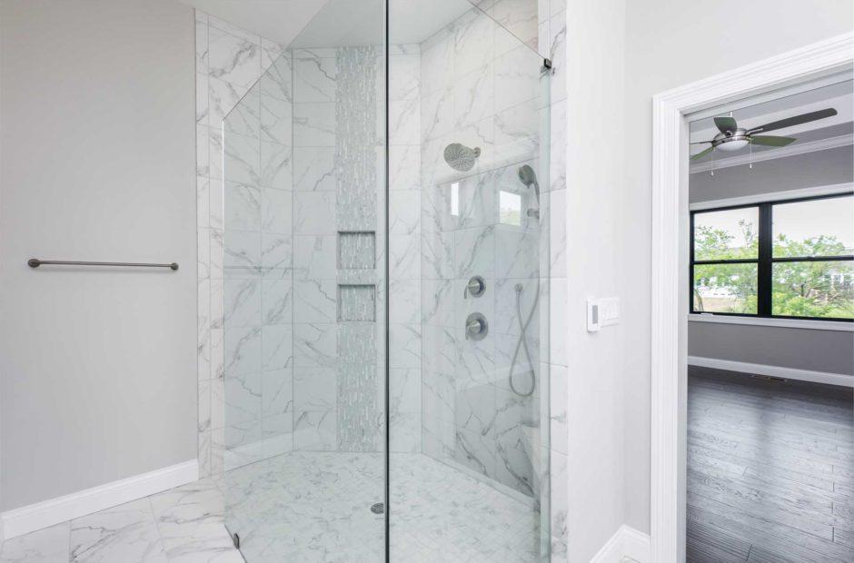 Brookside master bath
