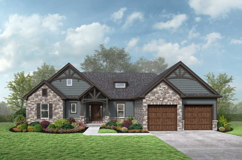 somerset exterior craftsman elevation