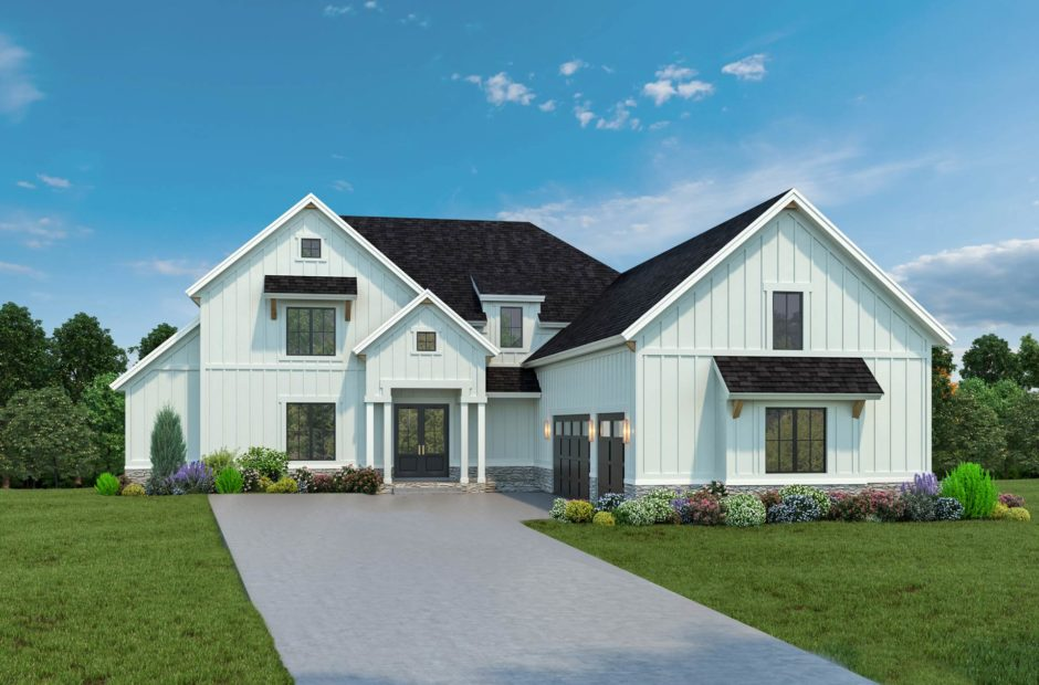 exterior elevation of Crooked Stick
