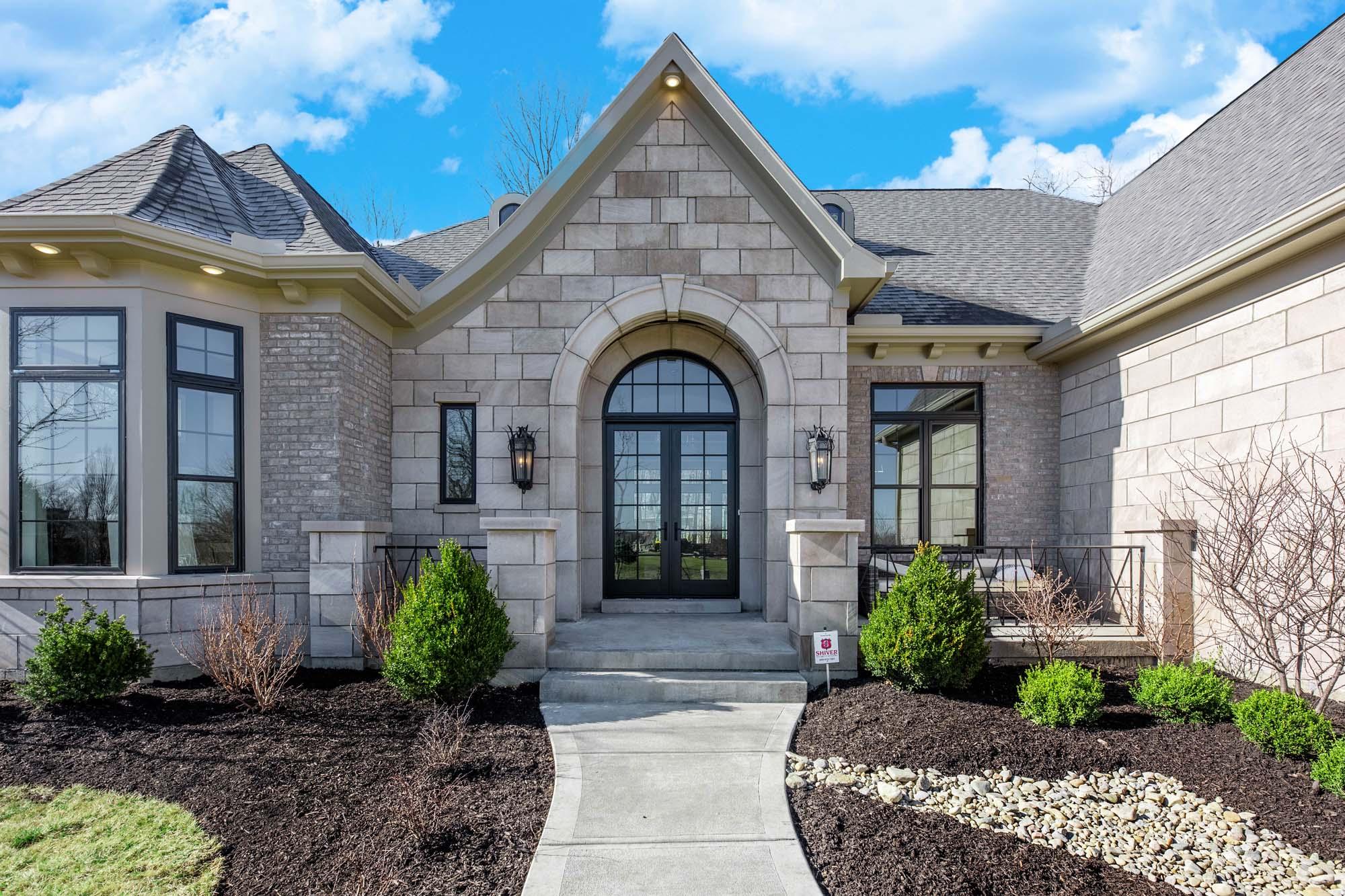 entry of dayton model home