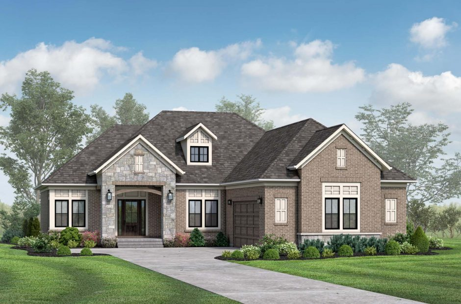 Brookside Traditional elevation