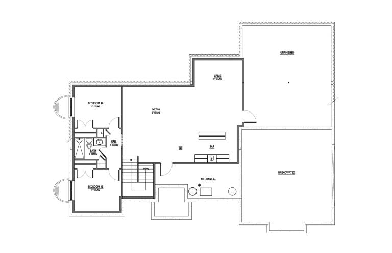 Optional Basement Diagram