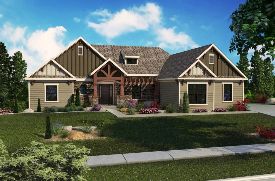 Camargo Craftsman elevation