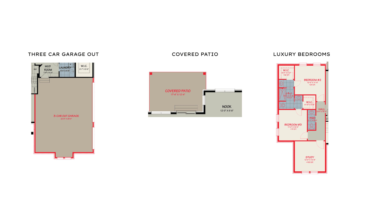 Camargo options for interior