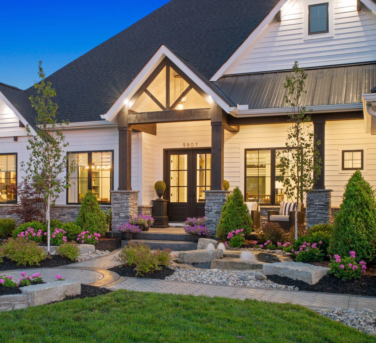 home exterior front door