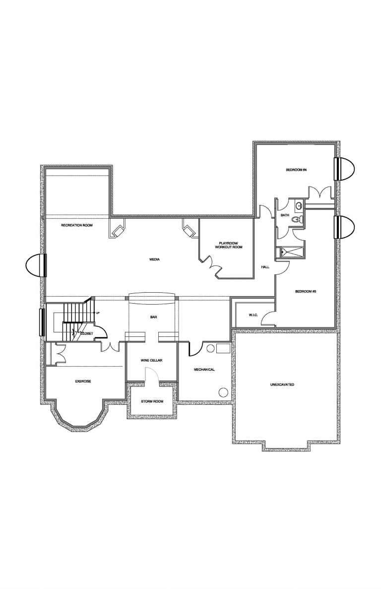 Optional Basement Diagram