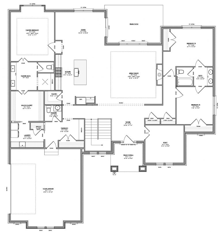 First Floor Diagram