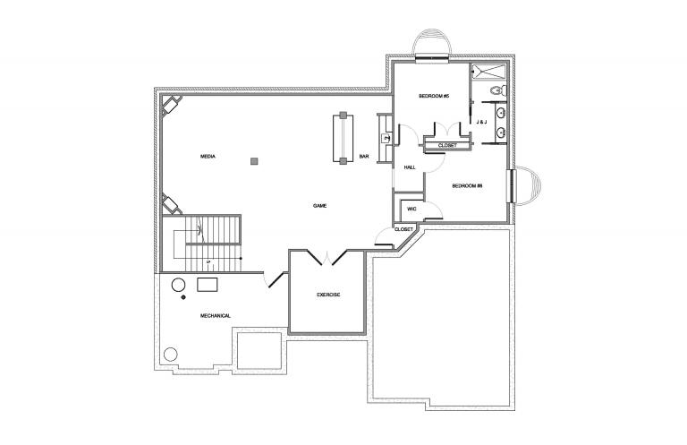 Basement Diagram