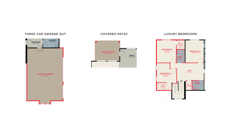 interior floor plan options