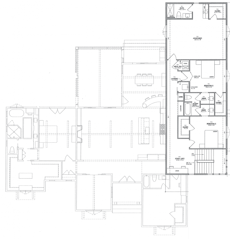 Second Floor Diagram